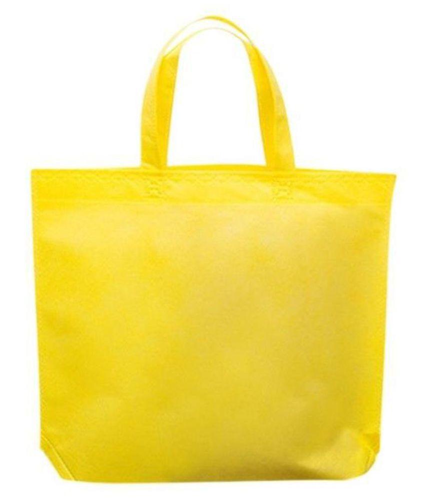 Generic Yellow Shopping Bags - 1 Pc