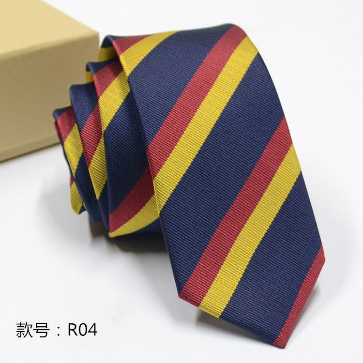 Levaso Multi Stripes Polyester Necktie