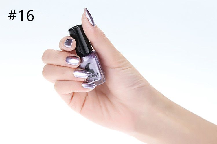 Miss Rose Nail Polish As Picure Metallic 30g gm