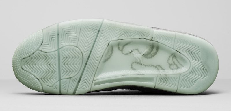 fb3d568ca86 Nike AIR Jordan 4 Kaws Gray Basketball Shoes - Buy Nike AIR Jordan 4 ...