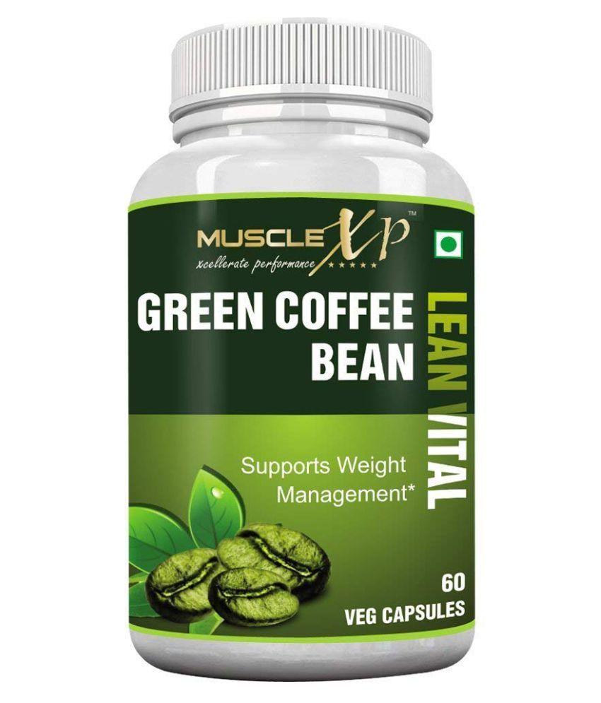 MuscleXP Green Coffee Bean Lean Vital 60 no.s Unflavoured