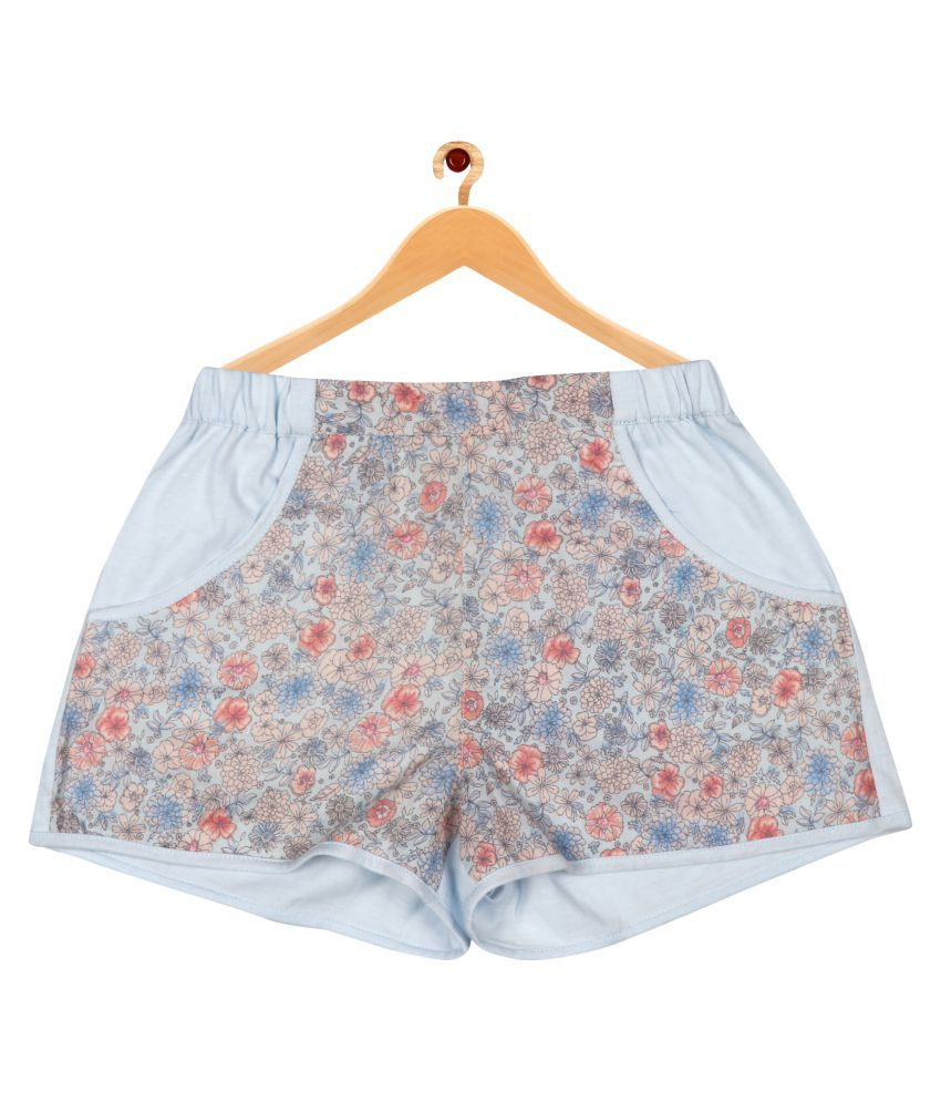 ShopperTree Multi Printed Shorts For Girls.