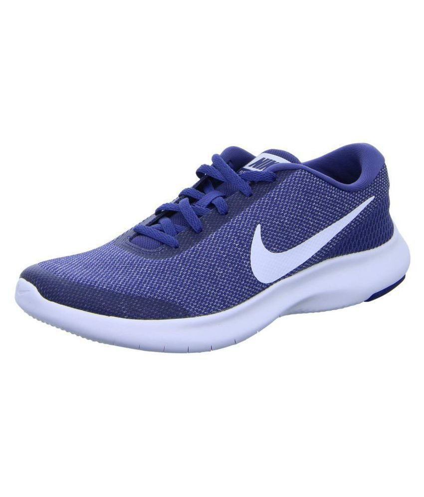 98032ca1fb74f Nike FLEX EXPERIENCE RN 7 Blue Running Shoes - Buy Nike FLEX EXPERIENCE RN  7 Blue Running Shoes Online at Best Prices in India on Snapdeal