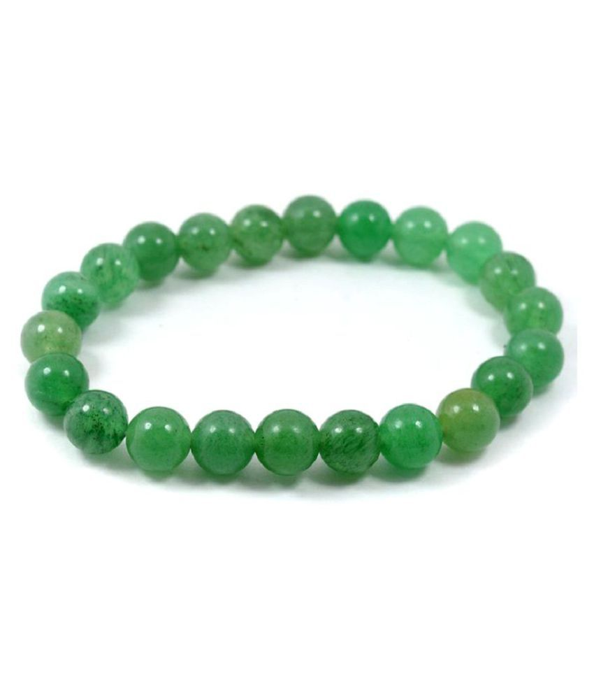 GREEN AVENTURINE 8 MM STRETCH BRACELET