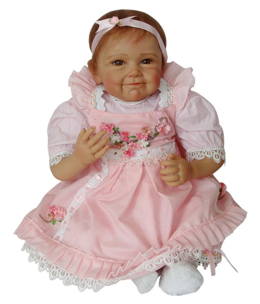 22Inch Real Looking Newborn Baby Silicone Realistic Reborn Doll Toy Kid's Gift