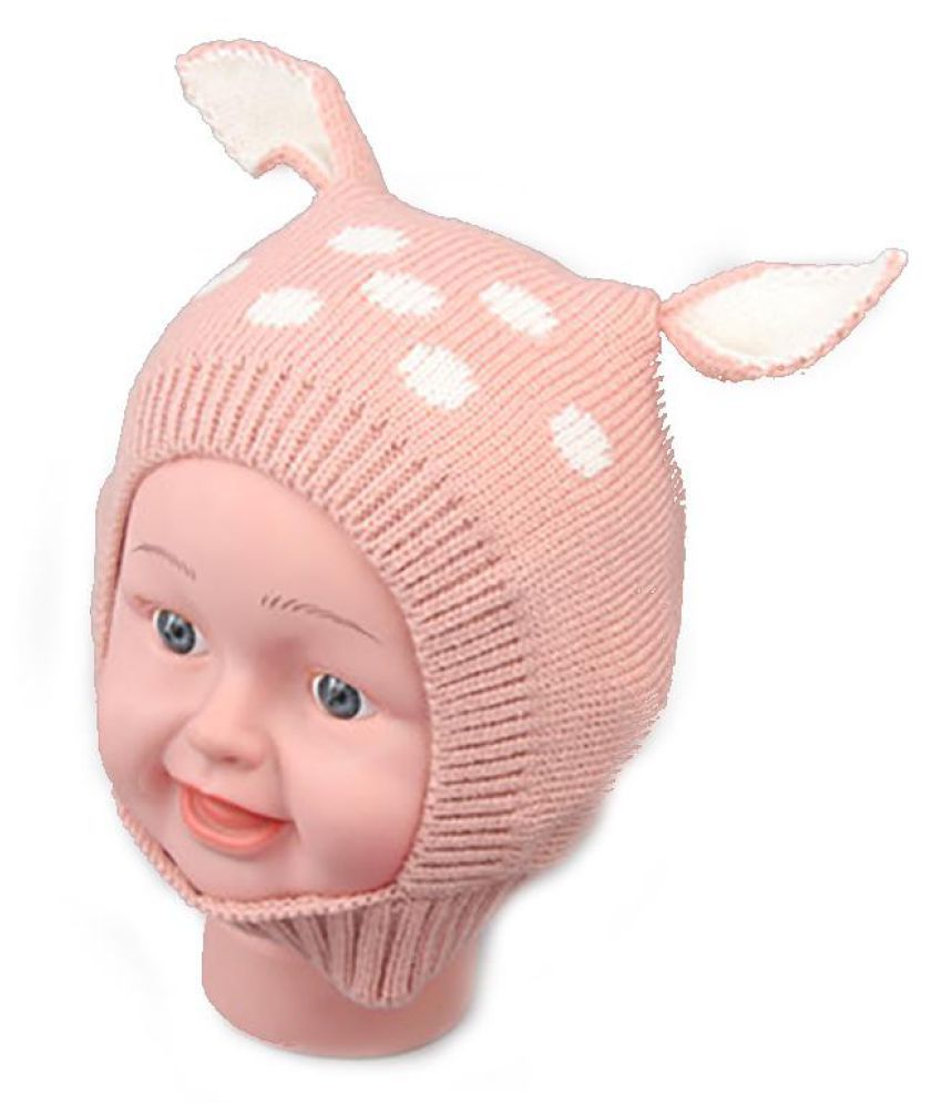 Generic pink Knitted Wool Hats