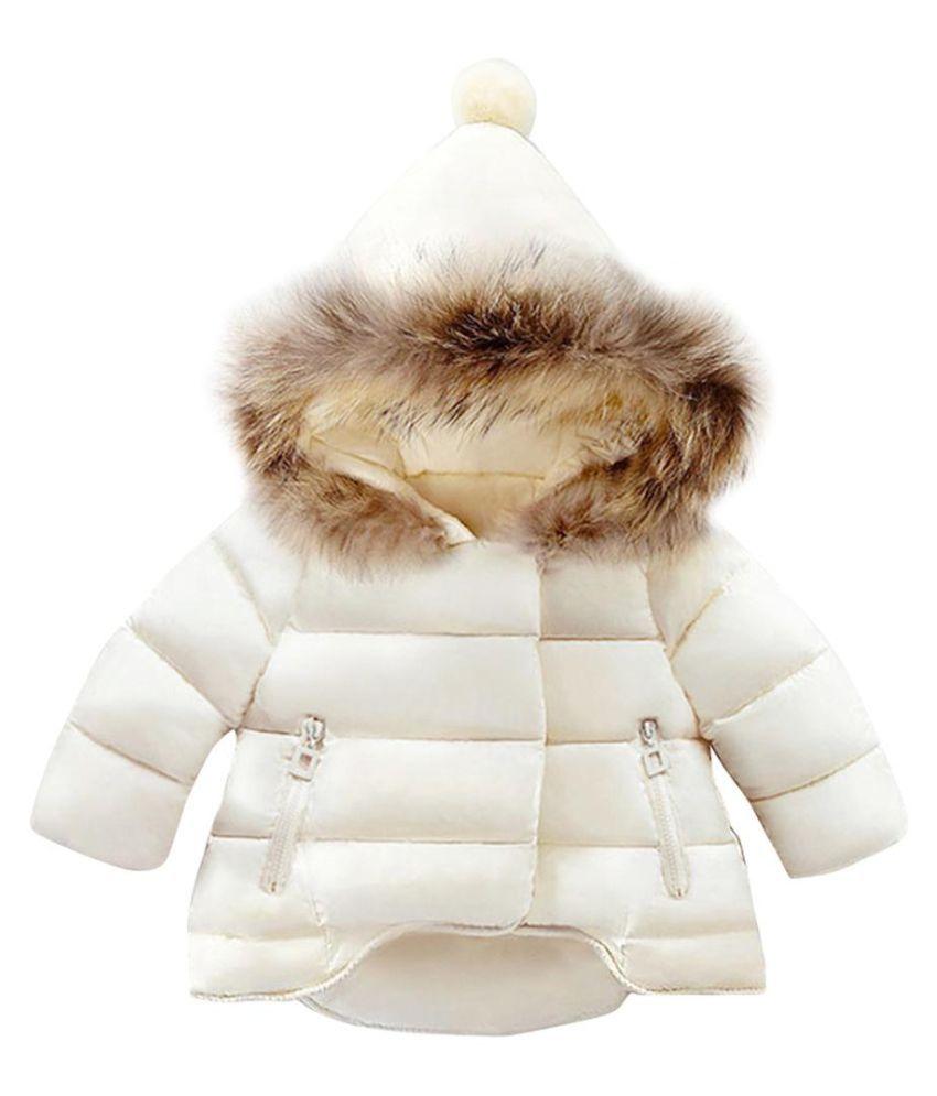 Newborn Baby Girls Boys Fashion Long Sleeve Winter Outdoor Zippered Hooded Coat