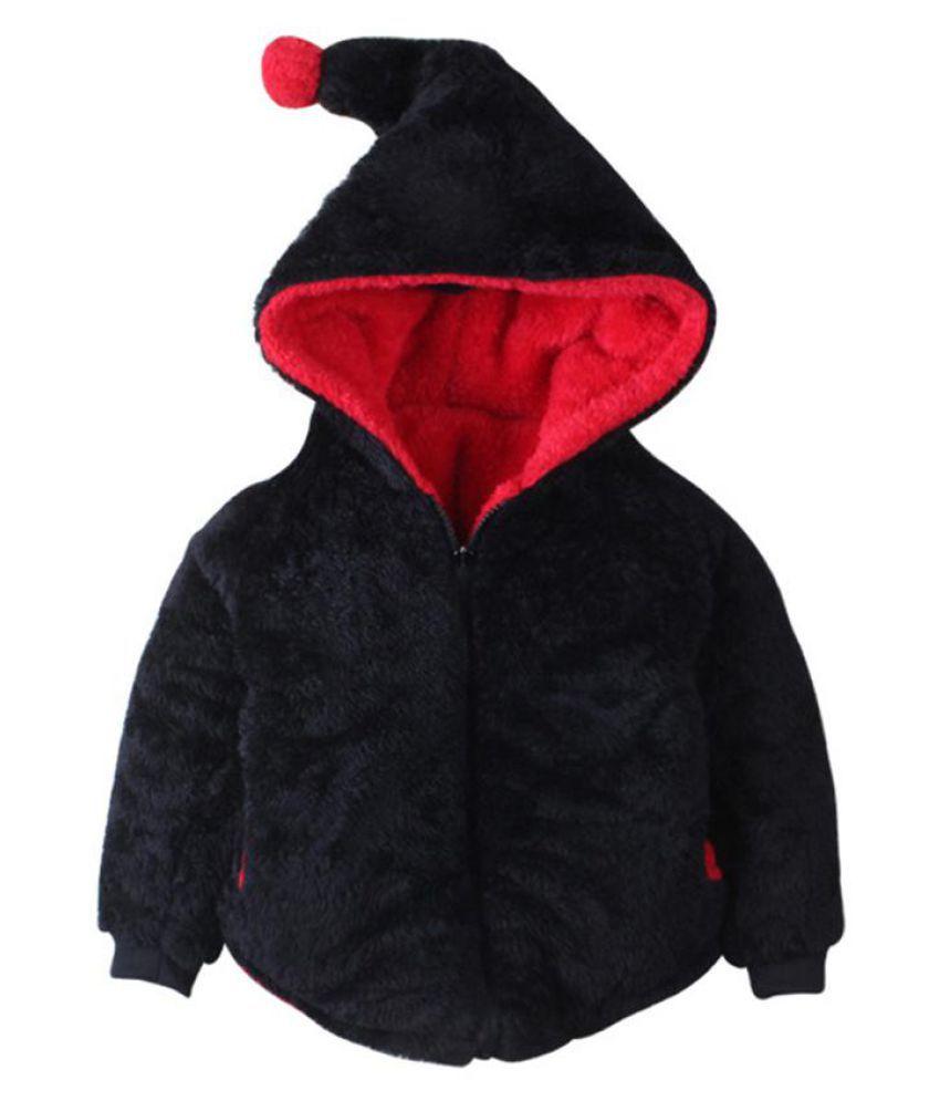 Winter Cute Dinosaur Hooded Coat Baby Boys Girls Warm Soft Zipper Jacket Outwear