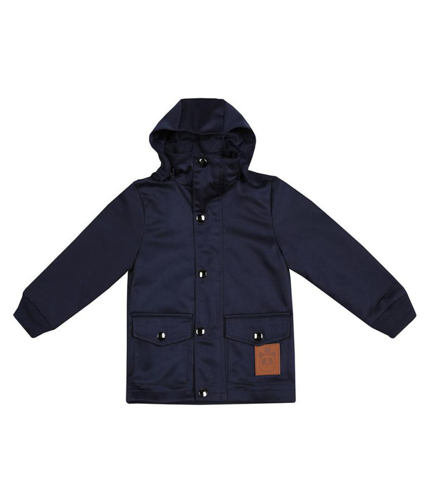 Baby Boy Girl Long Winter Jacket Hoodie Button Outerwear Coat Kids Clothes