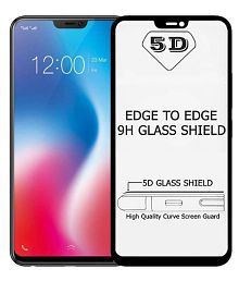 Quick View. Vivo Y55 5D Tempered Screen Guard By Kik Beazt Edge To Edge Full Screen Cover 5D Tempered Glass