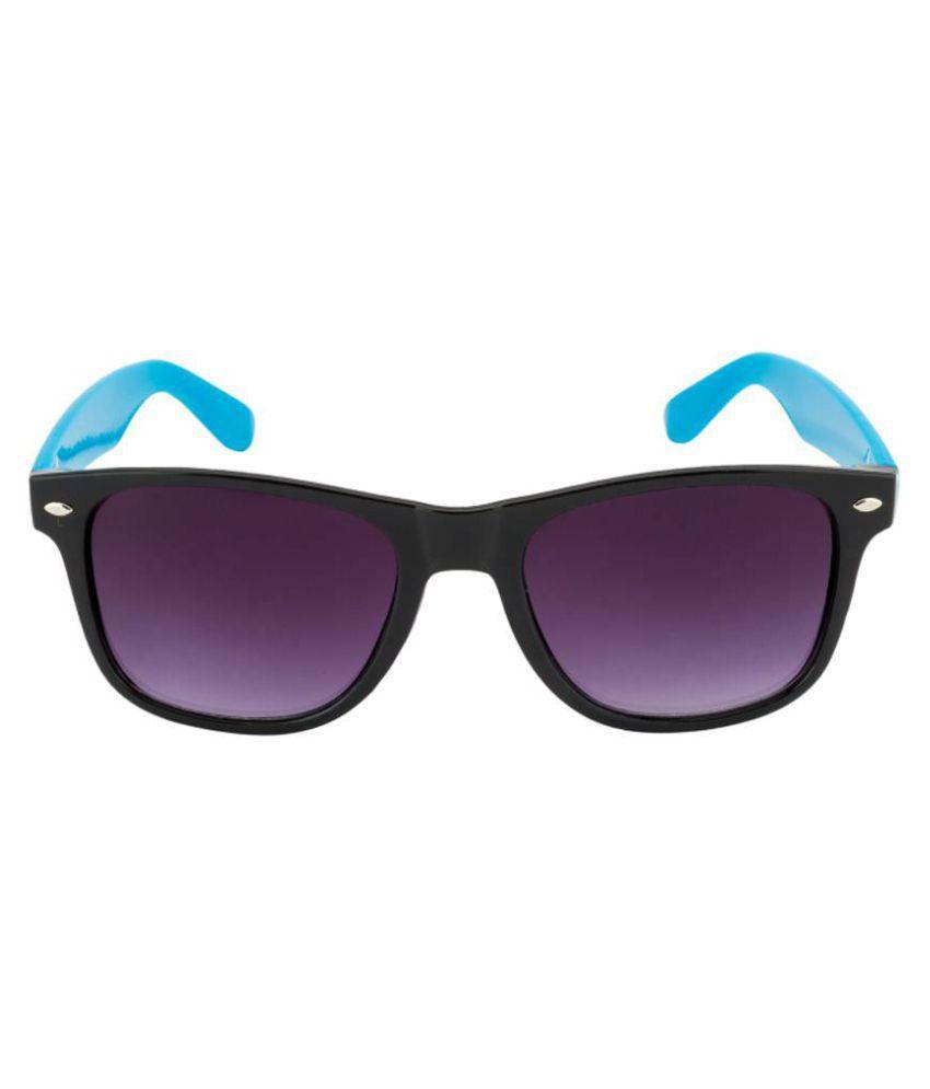 NXG4U Purple Wayfarer Sunglasses ( (WF 514) )