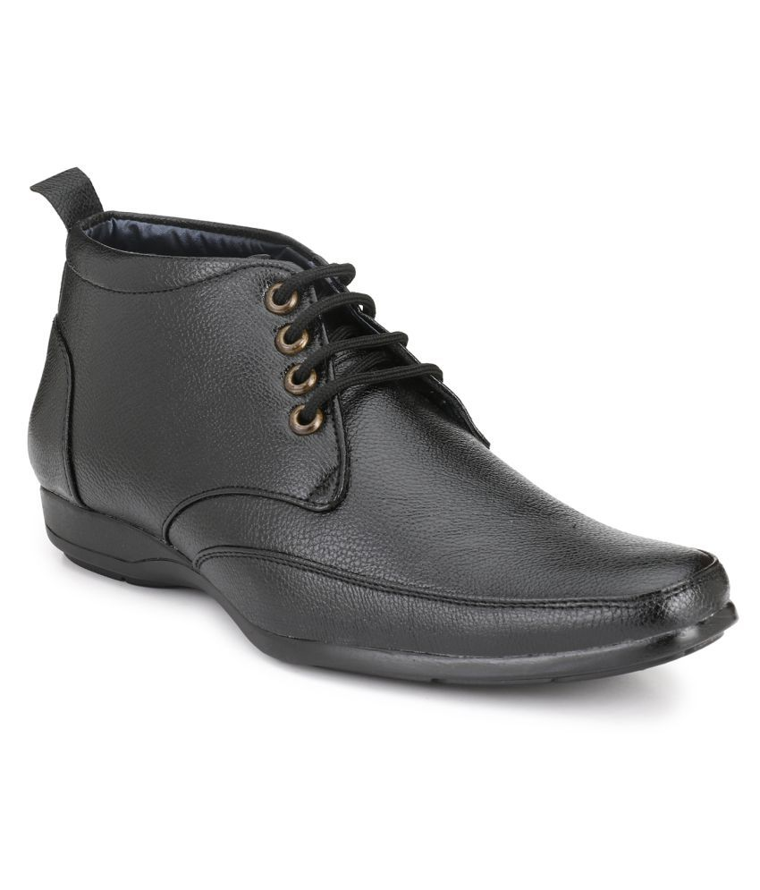 SHOE RIDER Black Party Boot