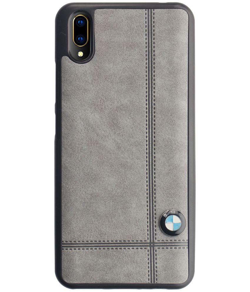 competitive price 3feca 09336 Vivo V11 Pro Plain Cases CareFone - Grey