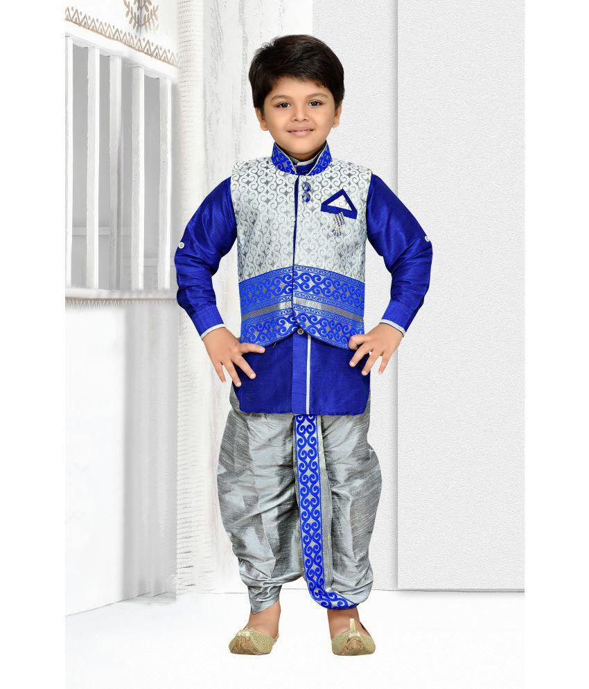 0e04e36c541 AJ Dezines Kids Kurta Waistcoat and Dhoti Pant for Boys - Buy AJ Dezines Kids  Kurta Waistcoat and Dhoti Pant for Boys Online at Low Price - Snapdeal
