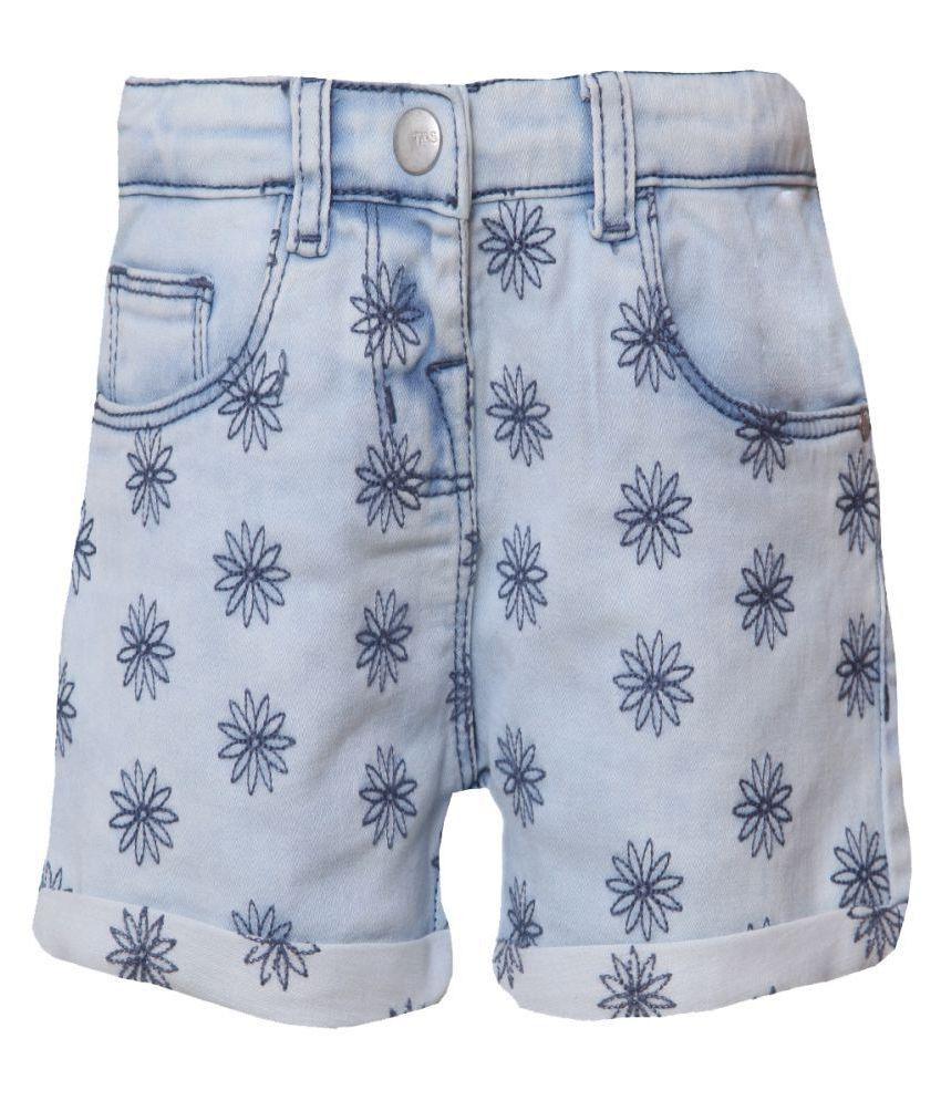 Tales & Stories Light Blue Shorts