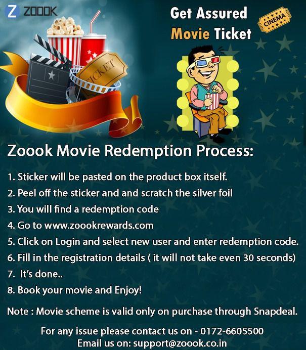 Free Movie ticket with Zoook Glow Glovebox/ Dashboard/ Cupboard
