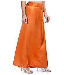 YMS Orange Satin Petticoat