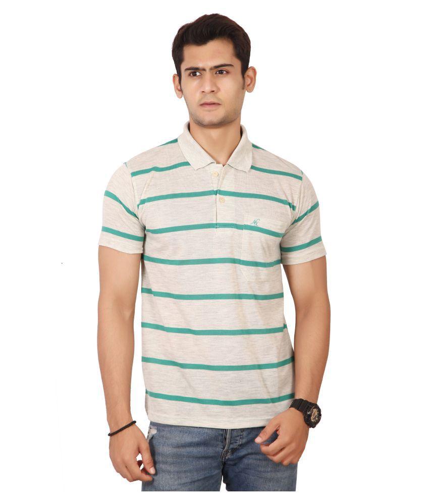 Awack Green Half Sleeve T-Shirt