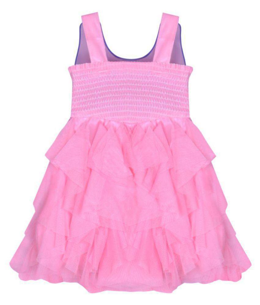 b93d0052b Cute Fashion Kids Baby Girls Princess Party Wear Flower Dresses ...