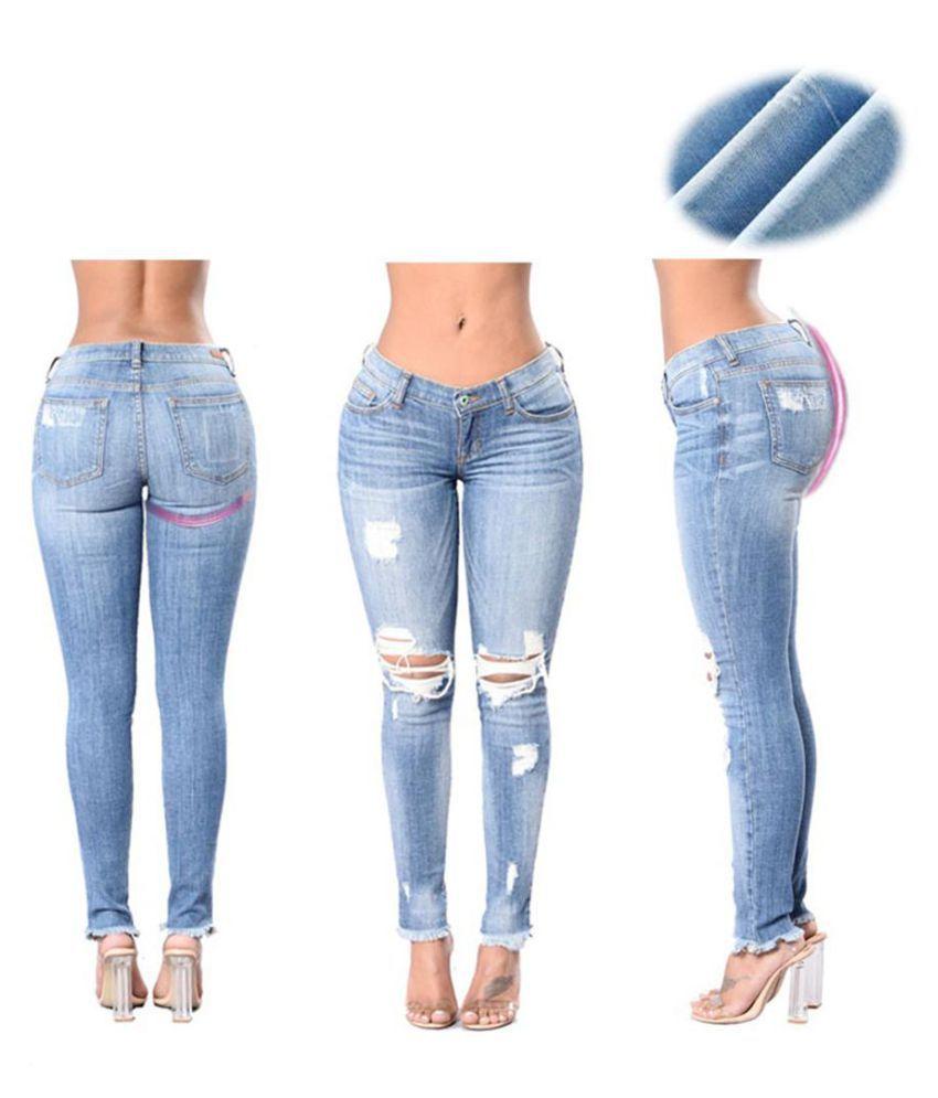 Generic Navy Blue Slim Jeans