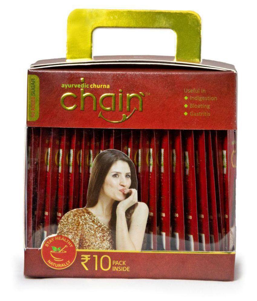 Chain Ayurvedic Churna 10 Rs Zipper Pouch Powder 140 gm Pack Of 1