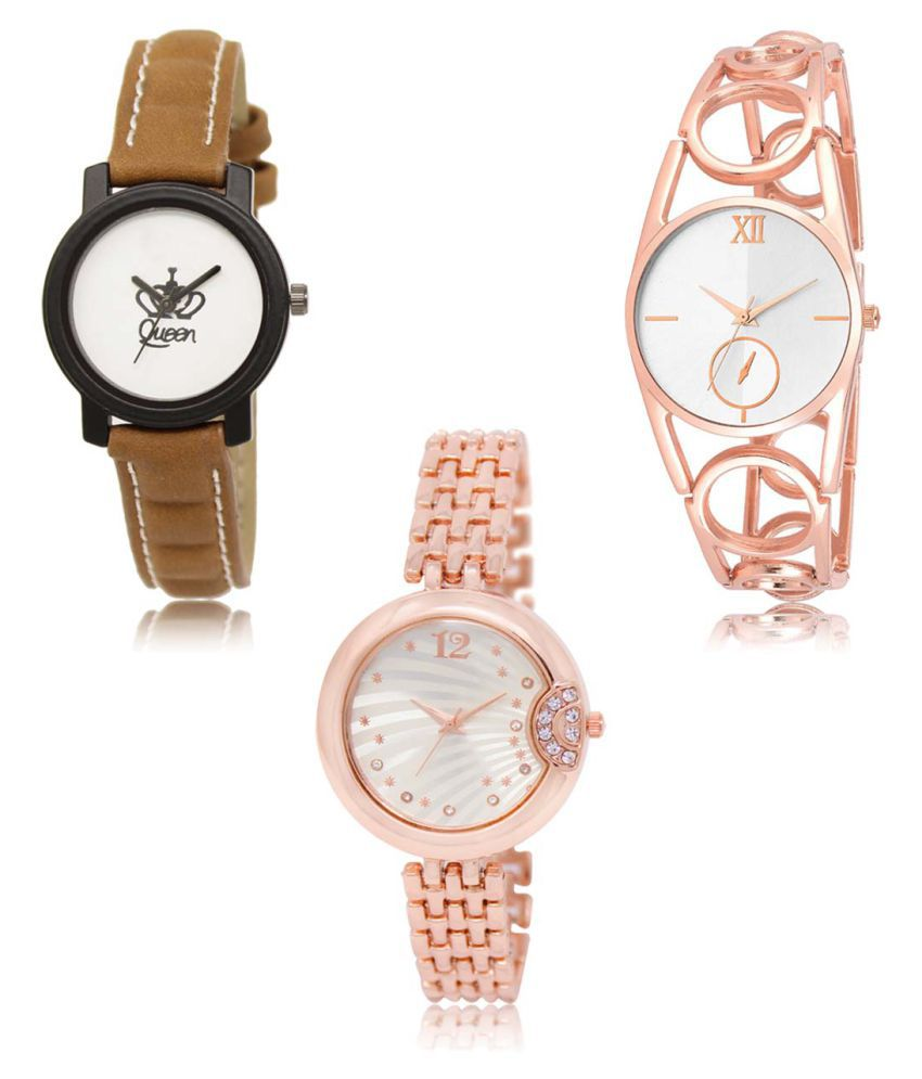 Analog Exclusive Mens Watches Combo of 3 LR209-213-228