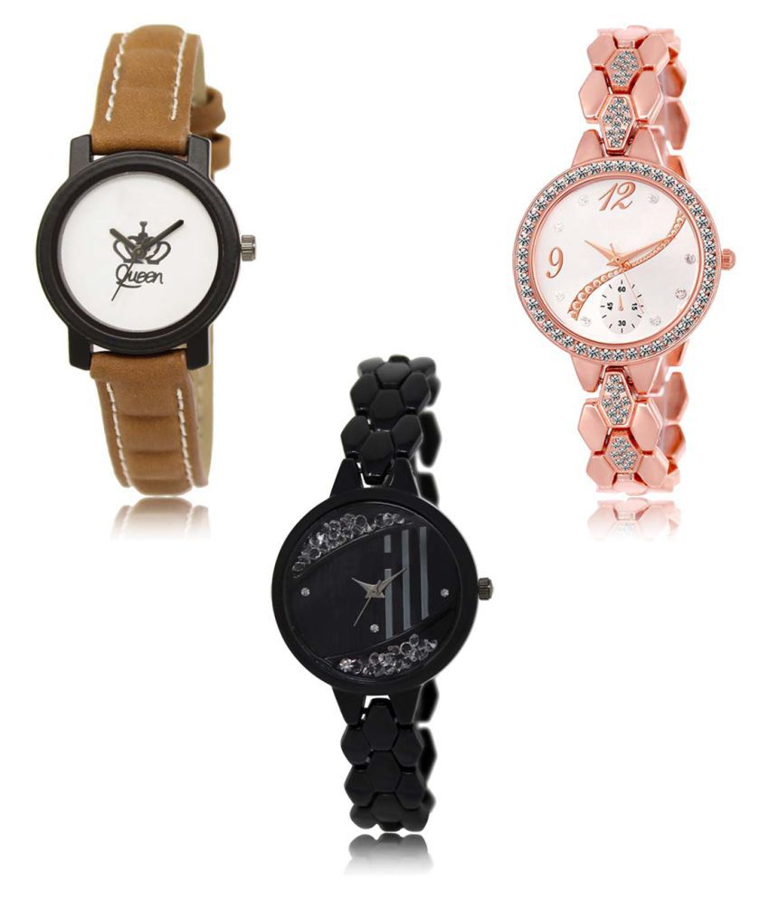 Analog Exclusive Mens Watches Combo of 3 LR209-215-221