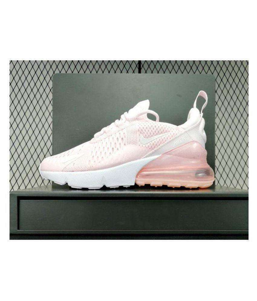 3dd9a804 Nike Air Max 270 Pink Womens Running Shoes