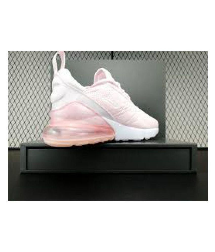 best service 57138 a90ef ... Nike Air Max 270 Pink Womens Running Shoes ...