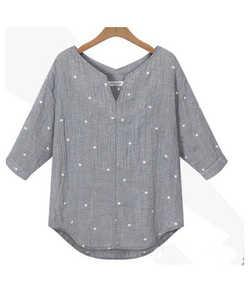 Generic White 3/4 Sleeve T-Shirt