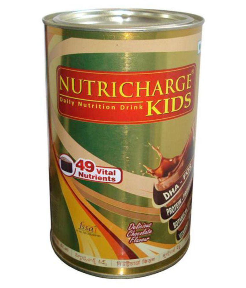 Nutricharge Kids Delicious Chocolate Flavour Powder 300 gm Pack Of 1