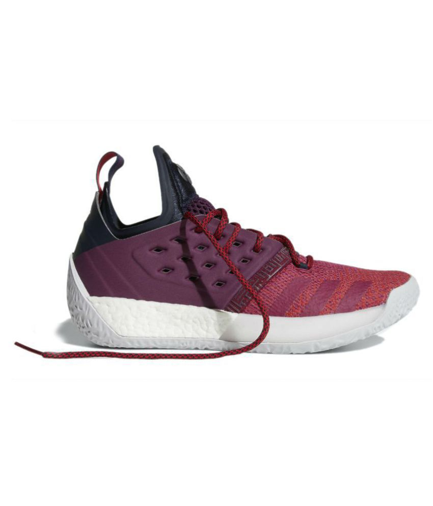 adidas harden vol 2 vision all star maroon basketball shoes buy rh snapdeal com