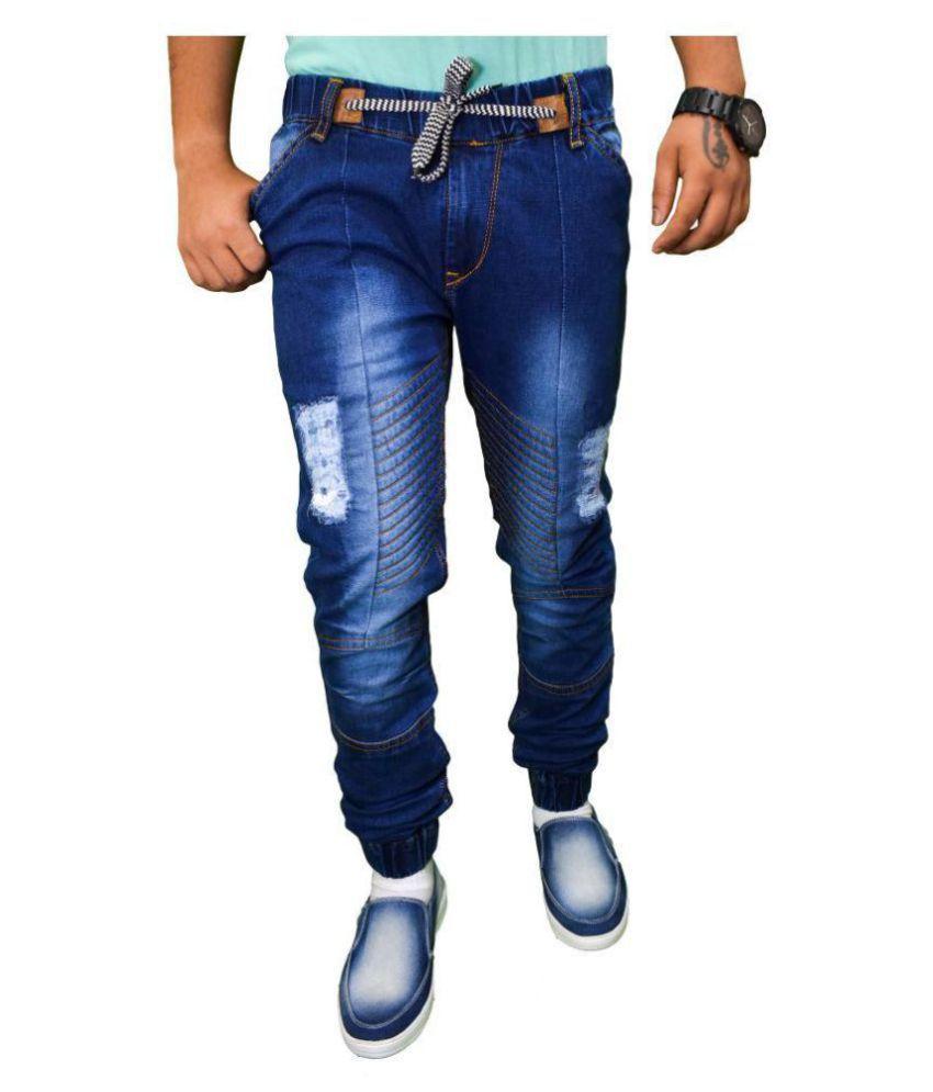 DU DENIM UNIVERSITY Blue Slim Jeans