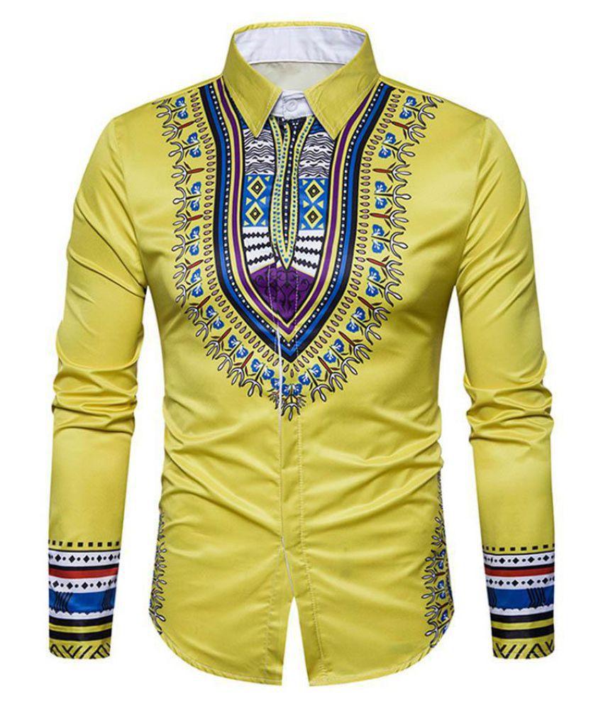 Generic Yellow Half Sleeve T-Shirt