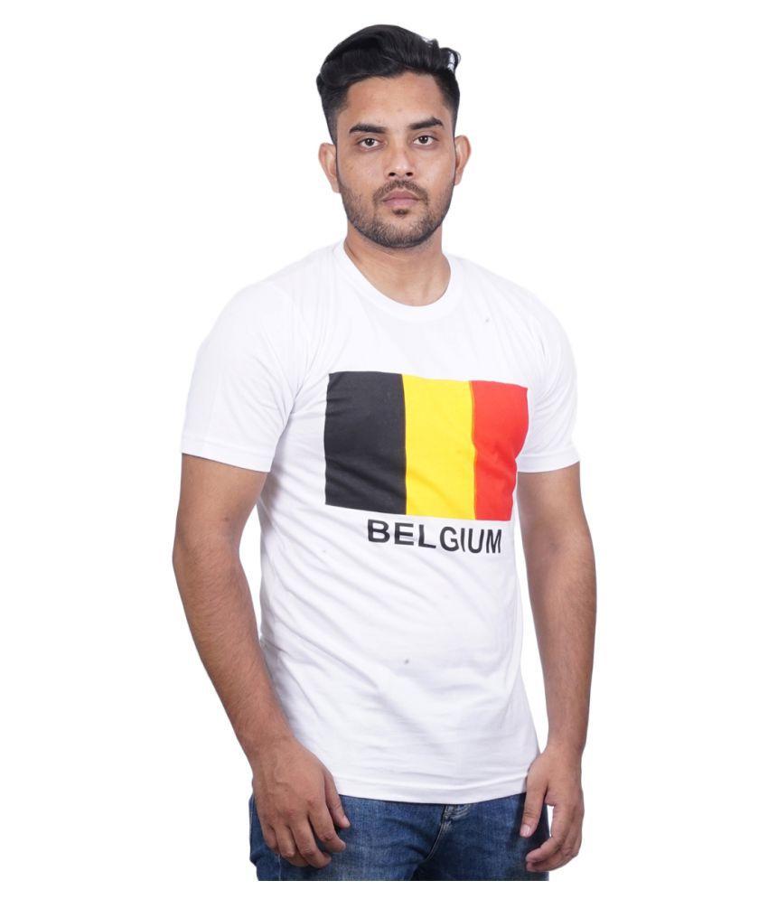 MSE White Half Sleeve T-Shirt