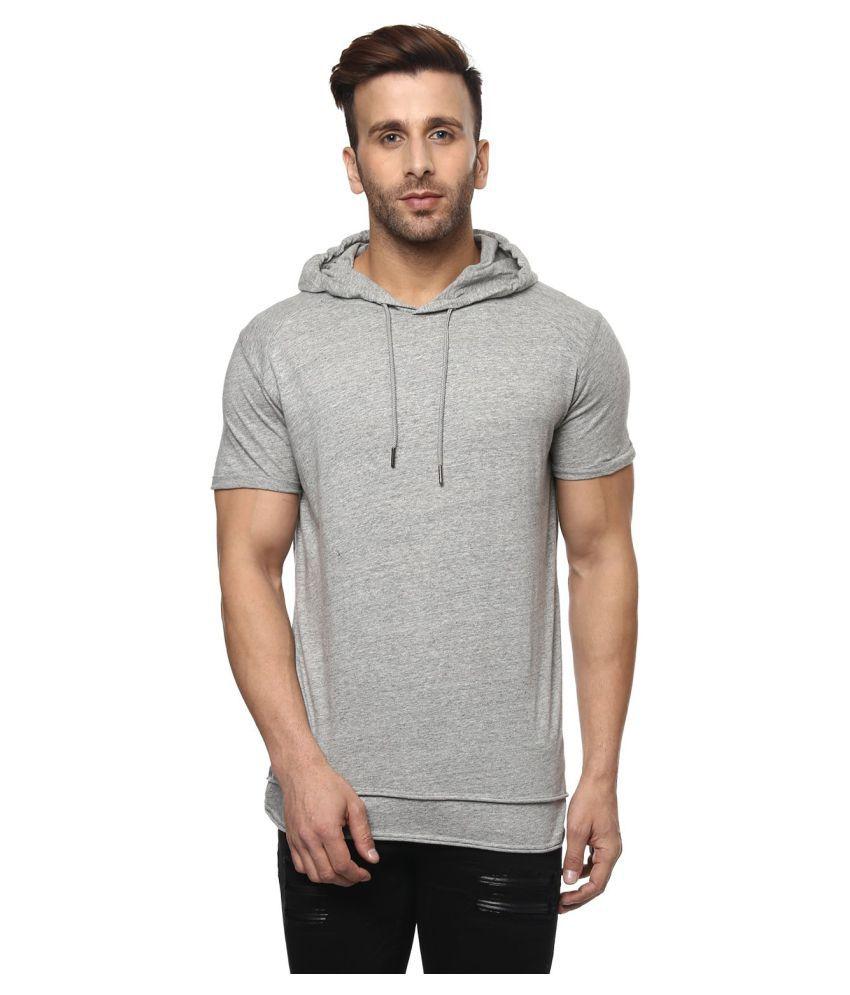Mufti Grey Half Sleeve T-Shirt