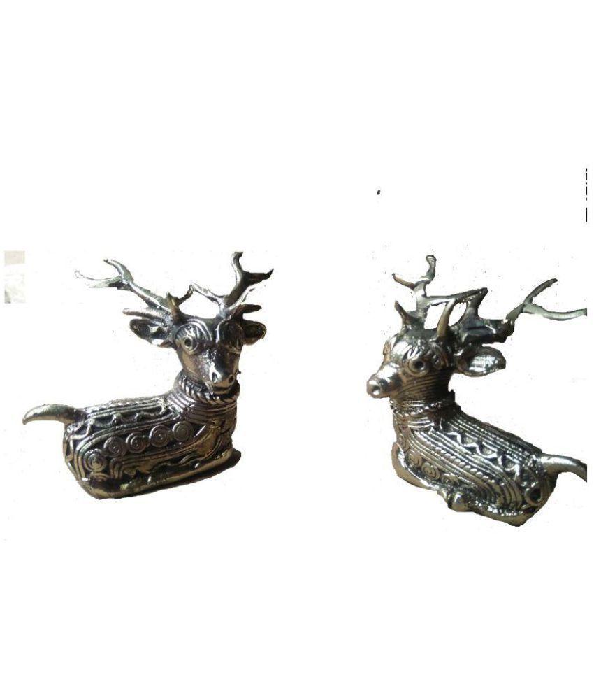 Dokra Brown Brass Figurines - Pack of 1