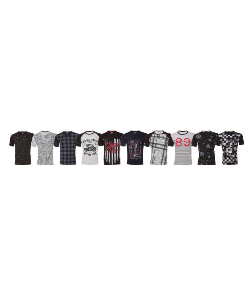 Shaun Peach Half Sleeve T-Shirt