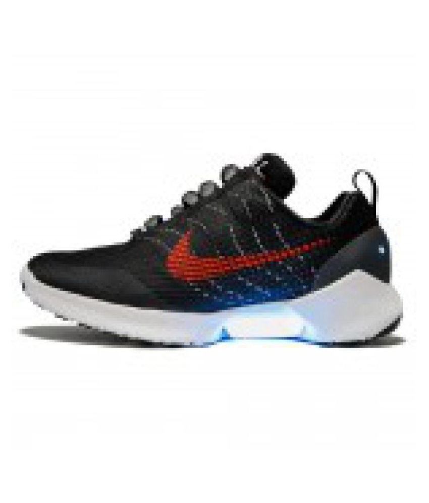 finest selection 31024 4eff2 Nike HyperAdapt 1.0 Red Lagoon Running Shoes Black  Buy Online at Best  Price on Snapdeal