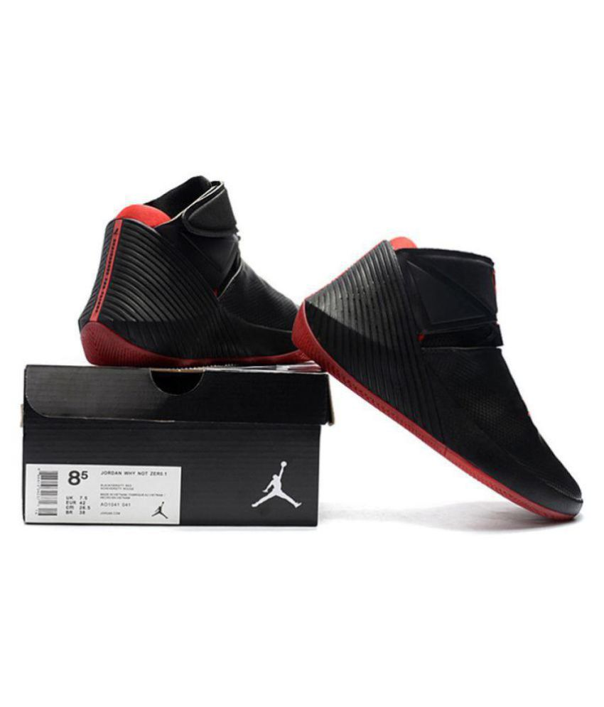 69e75660301b Nike jordan why not 0.1 Black Basketball Shoes - Buy Nike jordan why ...