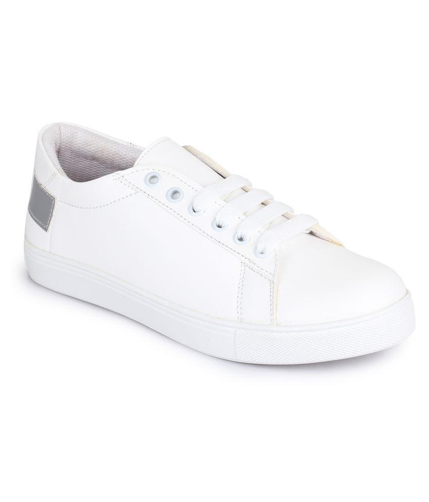 bdccfe7e0d Picktoes White Casual Shoes