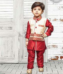 30946892ec Boys Ethnic Wear: Buy Boys Ethnic Clothes Online at Best Prices in ...