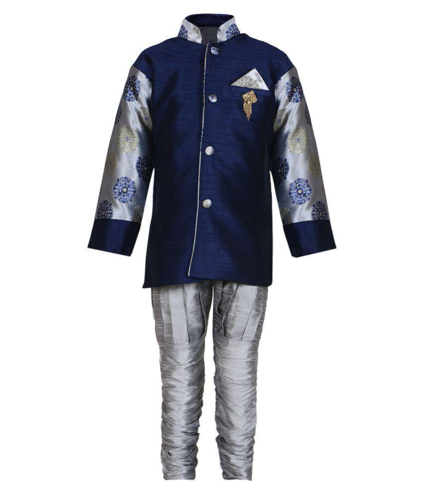fbd8337b2 AJ Dezines Kids Indo Western Sherwani Suit for Baby Boys - Buy AJ Dezines  Kids Indo Western Sherwani Suit for Baby Boys Online at Low Price - Snapdeal