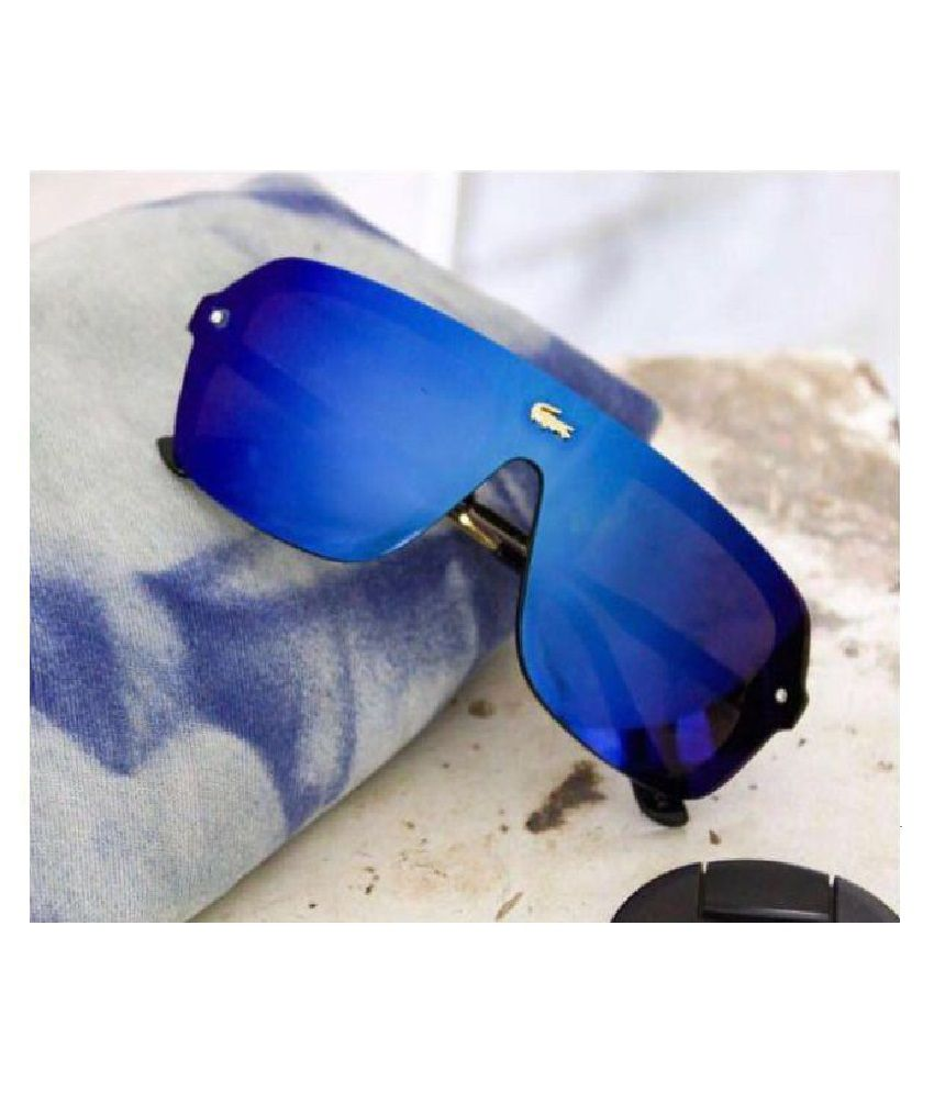 d53de82d6a6 LACOSTE SUNGLSS Blue Square Sunglasses ( L129 ) - Buy LACOSTE SUNGLSS Blue  Square Sunglasses ( L129 ) Online at Low Price - Snapdeal