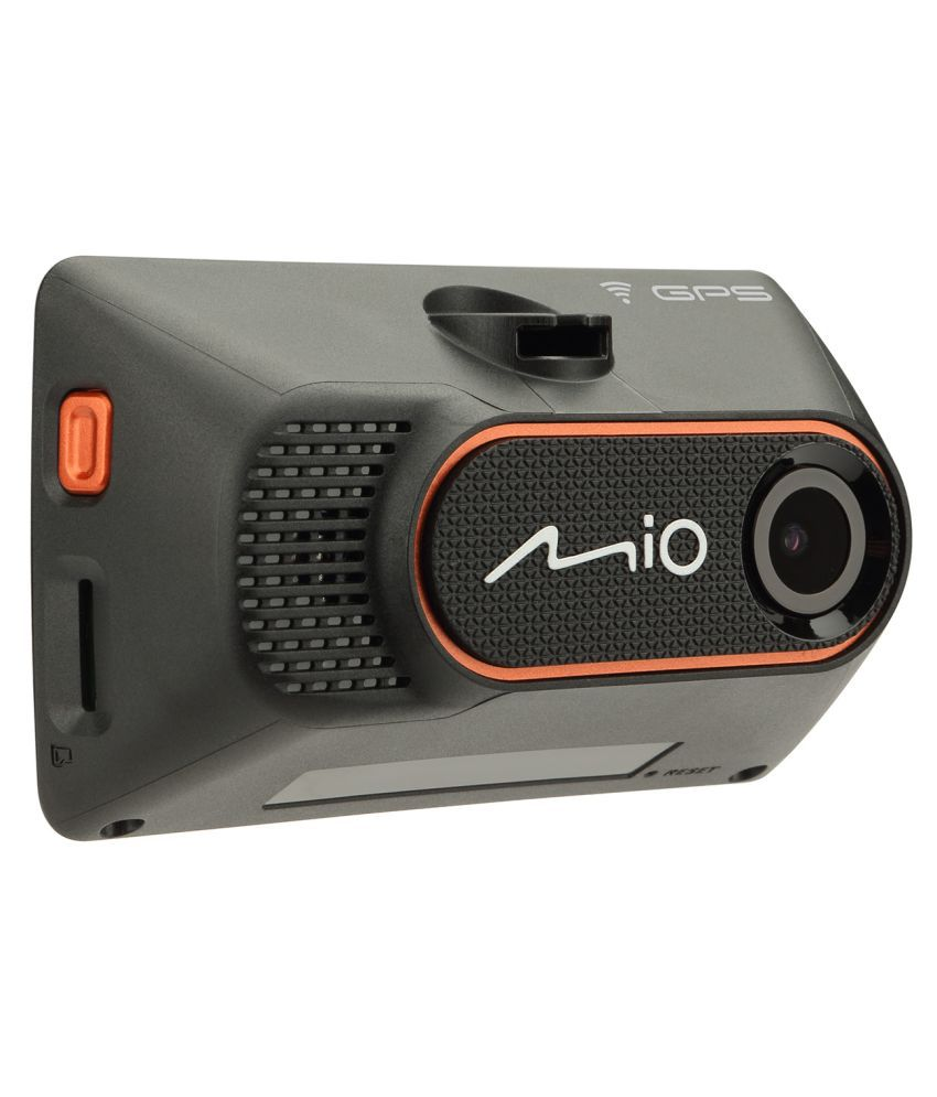 Mio DASHCAM 766 ( HD WIFI DVR, 2.7 INCH TOUCH SCREEN LCD, GPS, FACEBOOK LIVE, PRE INSTALLED ADAS, SPEED ALERT, LANE DEPARTURE, PARKING MODE, Made In India )