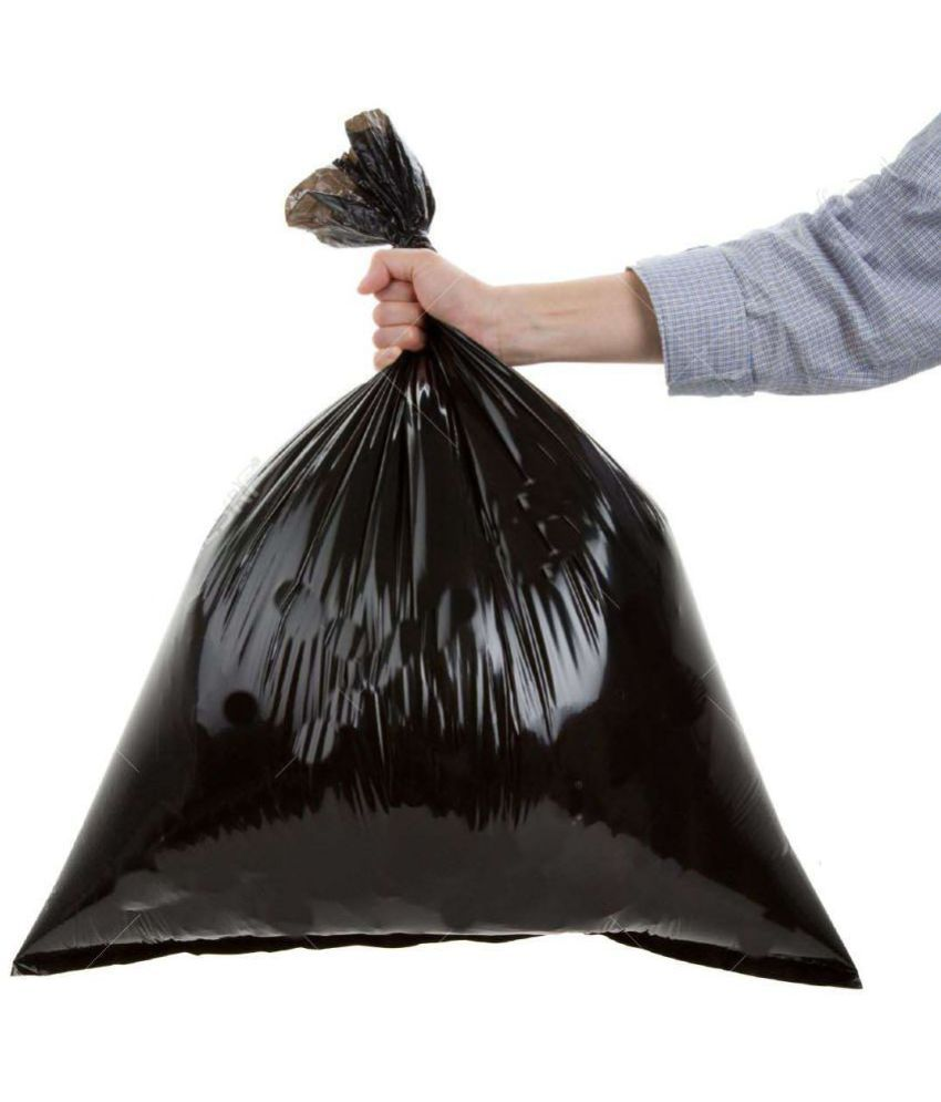 Ultimate Bio-degradable Medium Garbage Bags/Trash Bags/Dustbin Bags (19 X 21 inches) ( 90 Pieces)