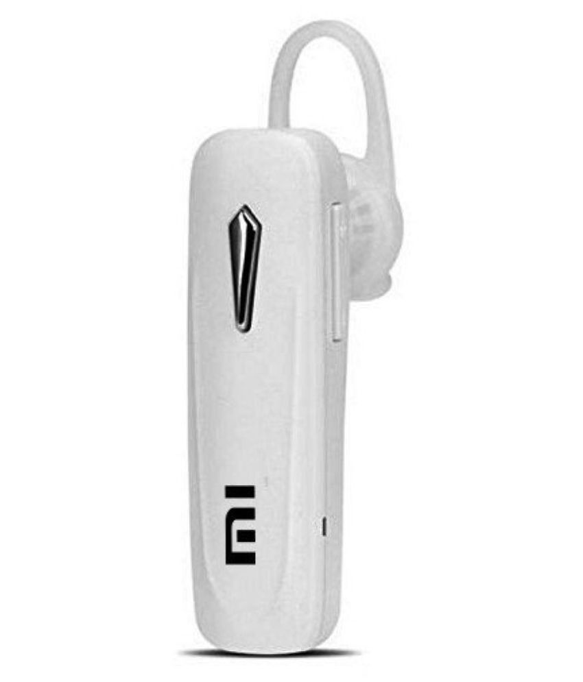 Mi Bluetooth Mi 01 Bluetooth Headset White Bluetooth Headsets Online At Low Prices Snapdeal India