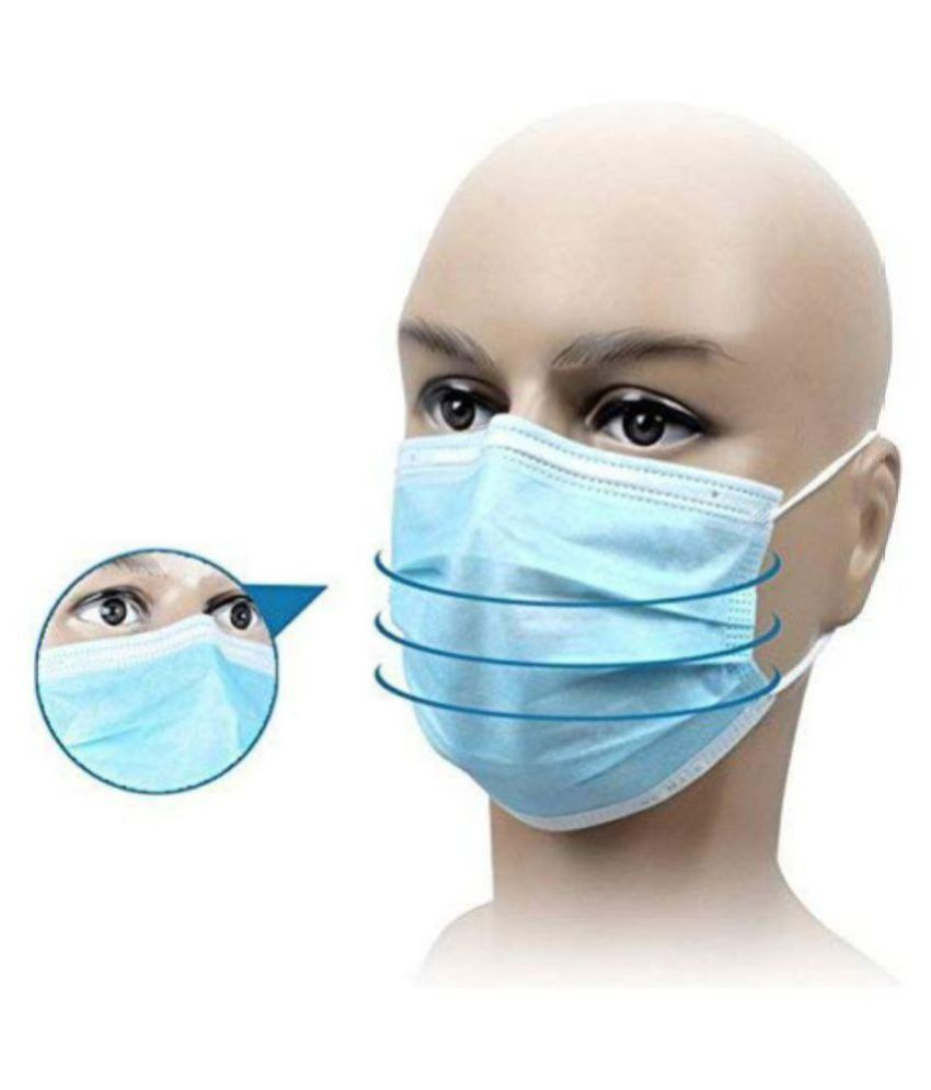 200 pack Masks Of Premsons Face-mouth Cover