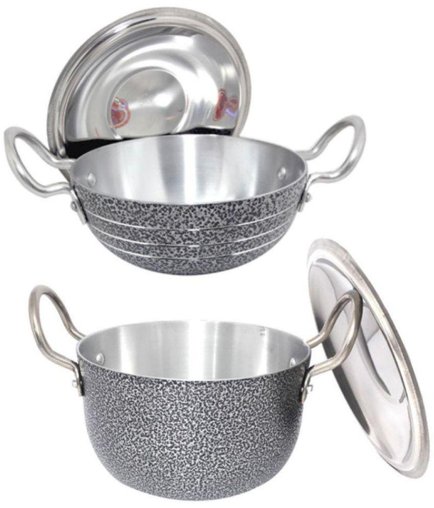 Bartan Hub Cookware Set Aluminium 3 Piece Best Price In