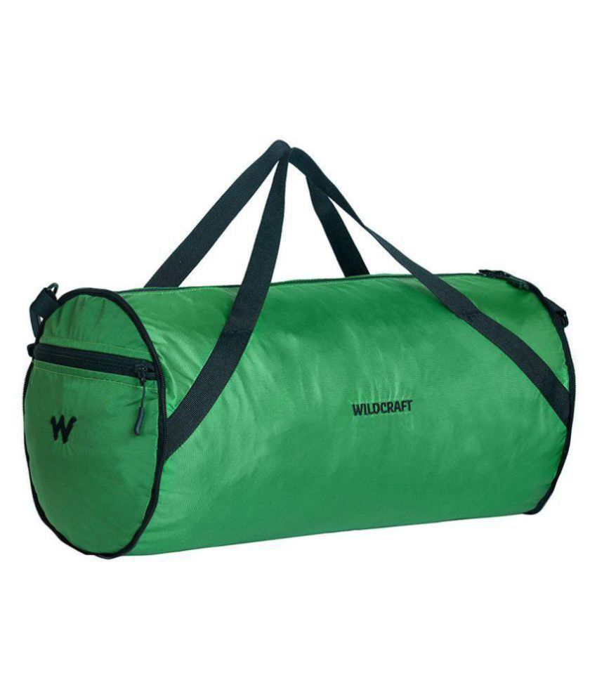 e9685bec13 Wildcraft Green Solid Duffle Bag - Buy Wildcraft Green Solid Duffle Bag  Online at Low Price - Snapdeal